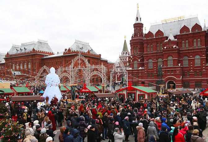 """Фестиваль """"Московская Масленица"""" стартовал в столице 17 февраля"""