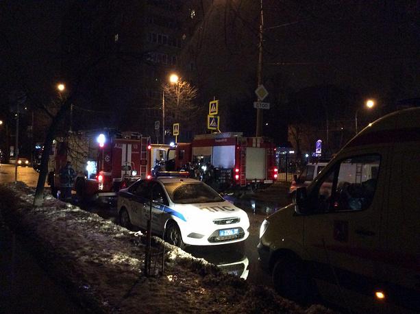 Навостоке столицы произошел пожар вобщежитии академии имени Сеченова