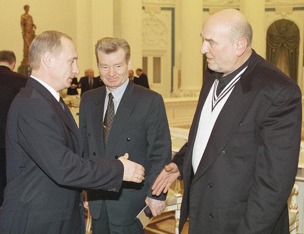 Владимир Путин и Алексей Петренко, 2001 год