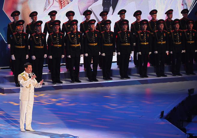 Ведущий солист Академического ансамбля песни и пляски Российской армии имени А.В. Александрова Вадим Ананьев