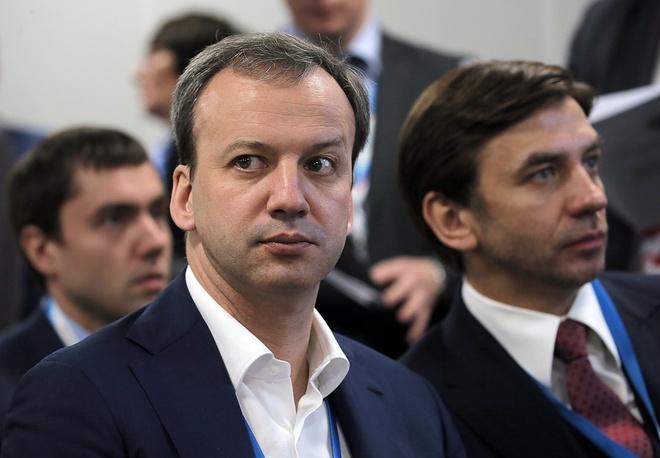 Аркадий Дворкович и Михаил Абызов