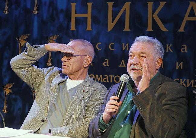 Андрей Кончаловский и Юлий Гусман
