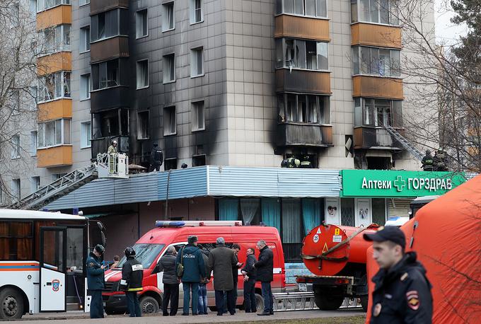 Дом 40 по улице Изумрудной, где проихощел взрыв бытового газа