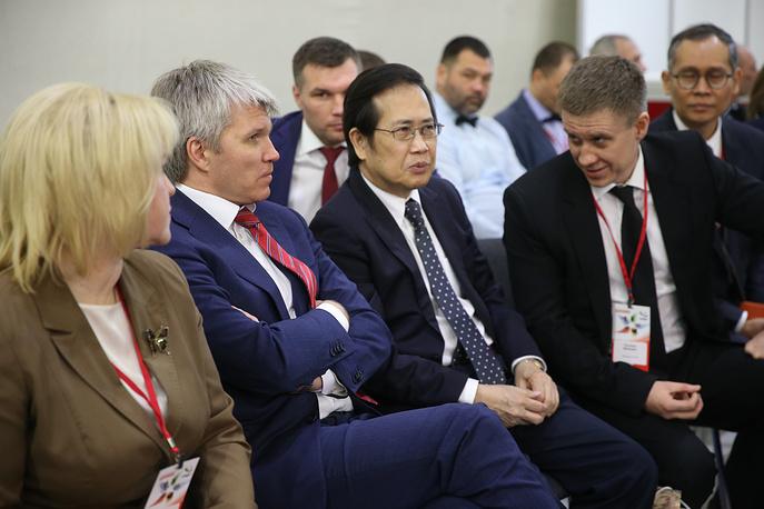 """Открытие Международной выставки """"Спорт"""""""