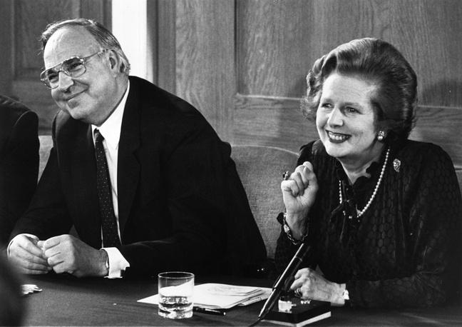 С премьер-министром Великобритании Маргарет Тэтчер. Лондон, 22 апреля 1983 года