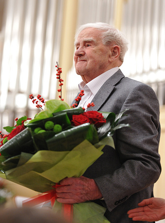 Торжественный вечер в честь 95-летия Даниила Гранина в Санкт-Петербурге, 2014 год