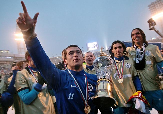 """2010 год. Чемпион России в составе """"Зенита"""""""