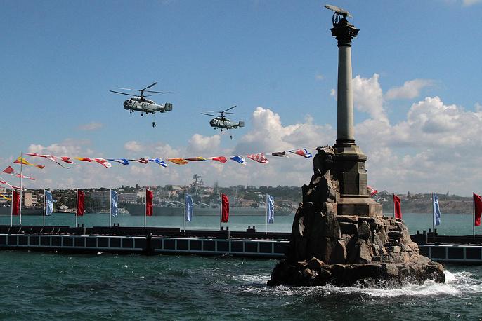 Корабельные многоцелевые вертолеты Ка-27, Севастополь