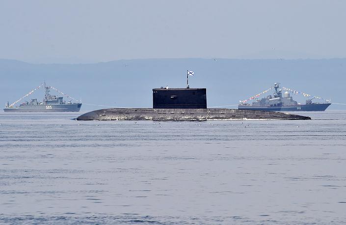 """Дизель-электрическая подводная лодка """"Усть-Камчатск"""""""