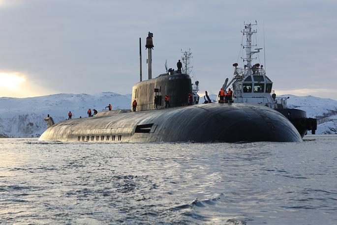 """Атомный ракетный подводный крейсер """"Орел"""""""