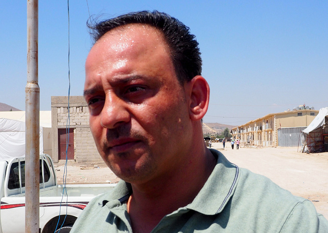 Директор лагеря Абдурахаман Хабиб
