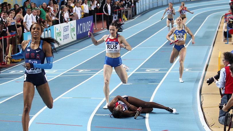 Женская эстафета 4х400 м
