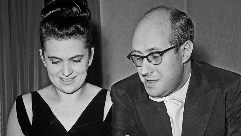Галина Вишневская и Мстислав Ростропович, 1962 год
