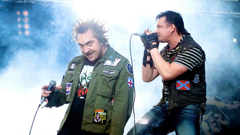 Михаил Горшенев и Андрей Князев