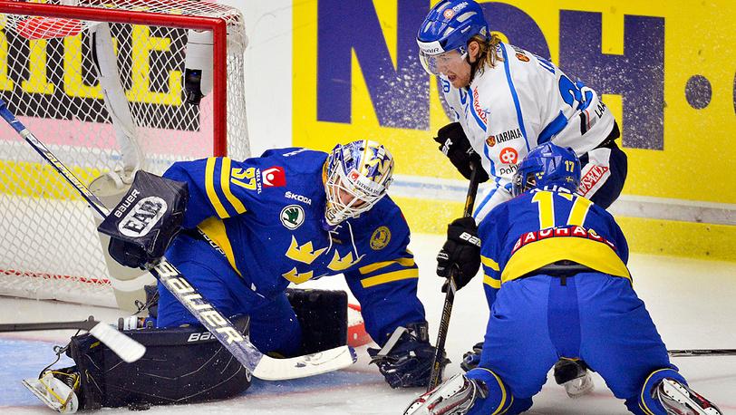 Матч Швеция-Финляндия