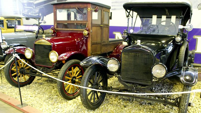 Ford Т, годы выпуска модели 1908-1927