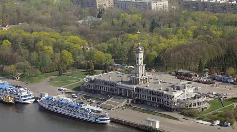 Северный речной вокзал города Москвы