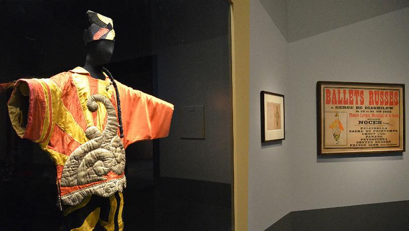 Китайский фокусник в «Параде»  Пабло Пикассо