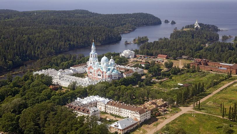 Россия. Карелия. Валаамский Спасо-Преображенский монастырь