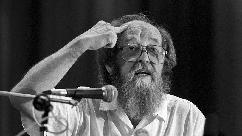 Александр Солженицын. 1994 год. Фото ИТАР-ТАСС/Сергей Метелица
