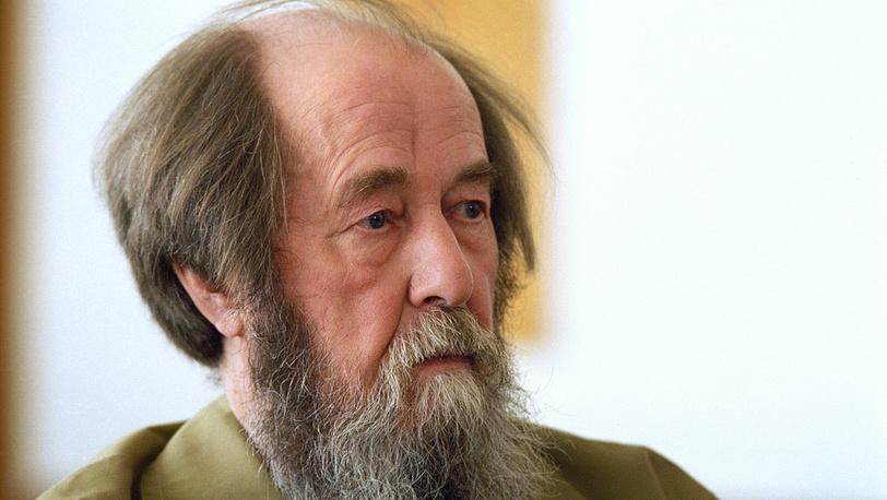 Писатель Александр Солженицын. 1995 год. Фото ИТАР-ТАСС/Борис Кавашкин