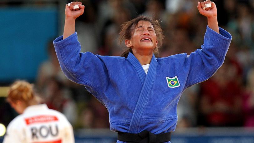 Сара Менезес из Бразилии стала чемпионкой дзюдо