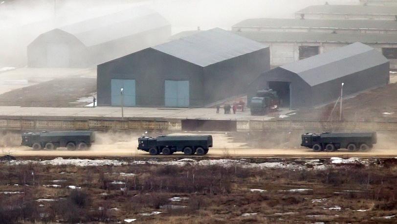 ЗРК С-300 на полигоне Алабино - тренировка к Параду Победы 9 мая