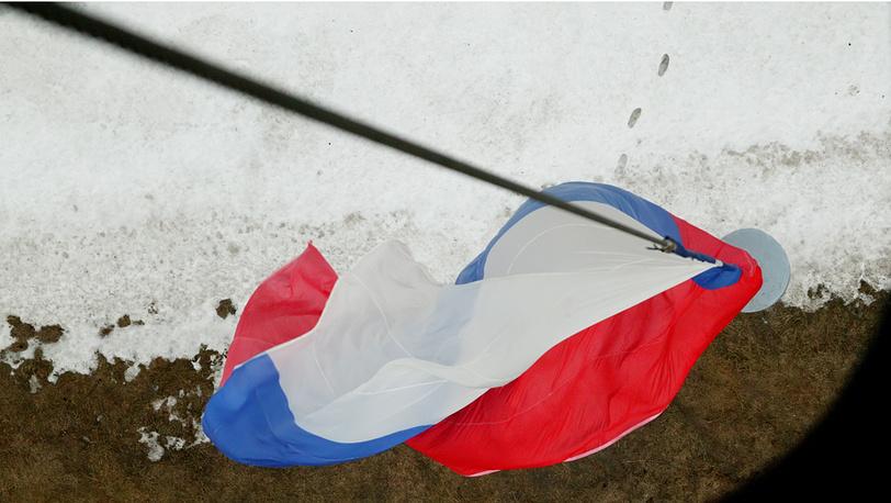 Тренировки экипажей Ми-8 ВВС России к Параду Победы 9 мая