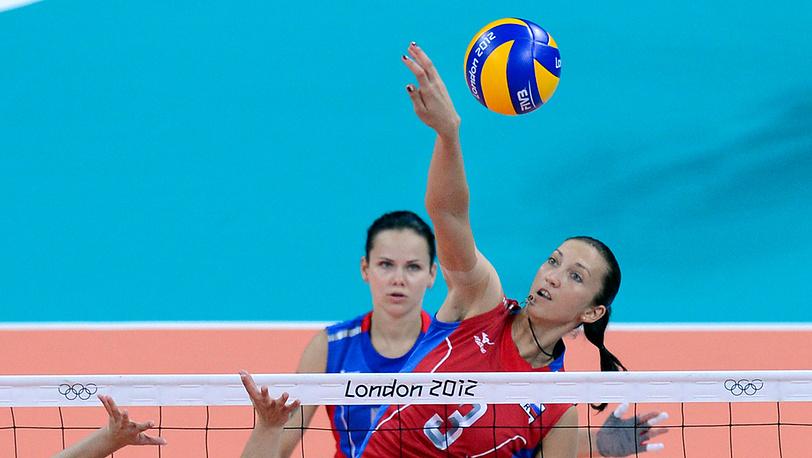Женская сборная России по волейболу одержала победу над командой из Алжира в третьем матче группового этапа