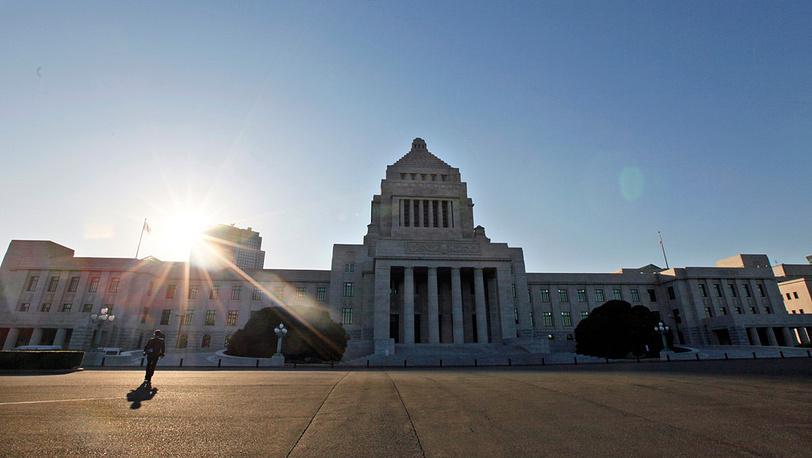 Здание парламента Японии