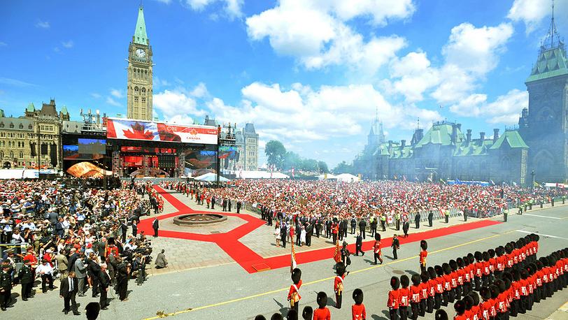 Парламентский холм. Канада