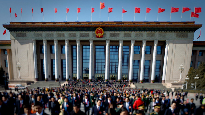 Здание парламента Китая