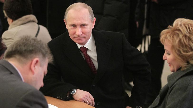 Владимир Путин с супругой Людмилой