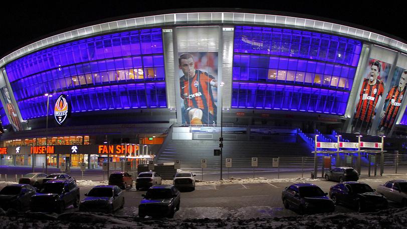 Стадион Евро-2012 в Донецке, Украина