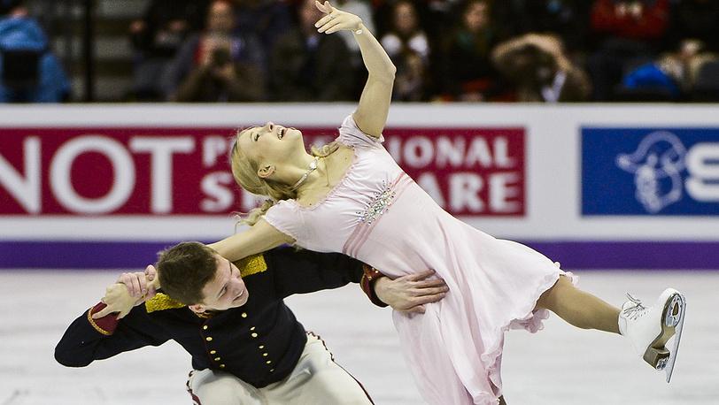 Россияне Дмитрий Соловьев и Екатерина Боброва
