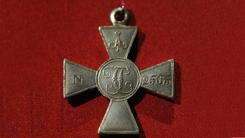Знак отличия Военного ордена Святого Георгия для солдат прусских союзников