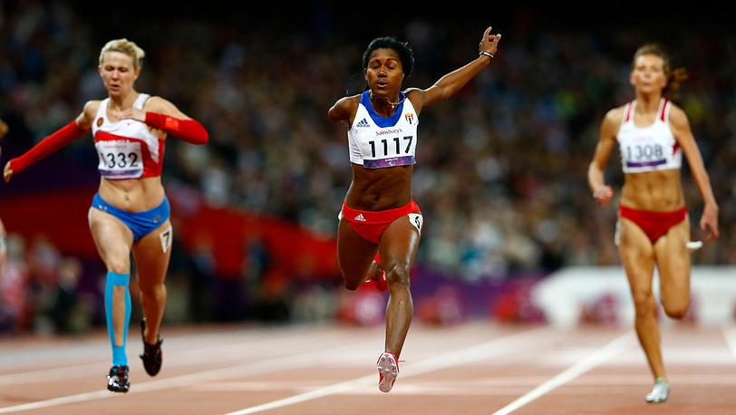 Николь Родомакина, бег на 100 м