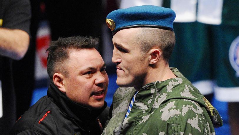 Костя Цзю (слева) и Денис Лебедев
