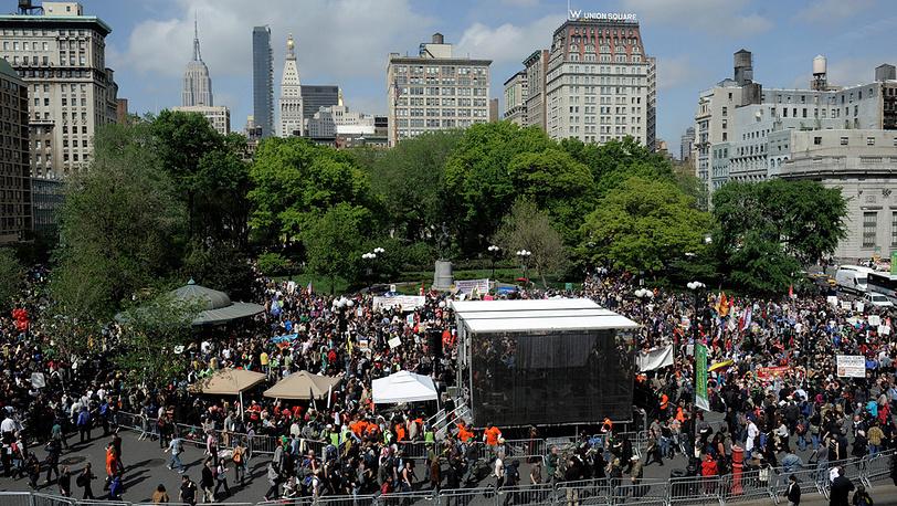 Нью-Йорк. 1 мая, 2012 год