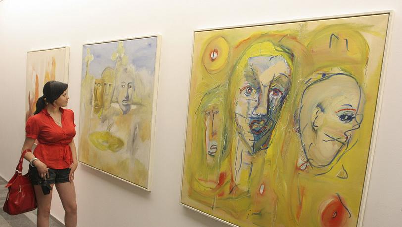 Выставка картин Пола Маккартни в Киеве