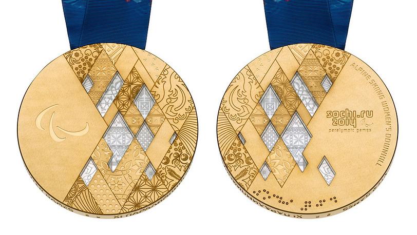 Паралимпийские золотые медали