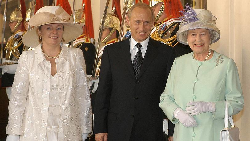2003 год. С Елизаветой II