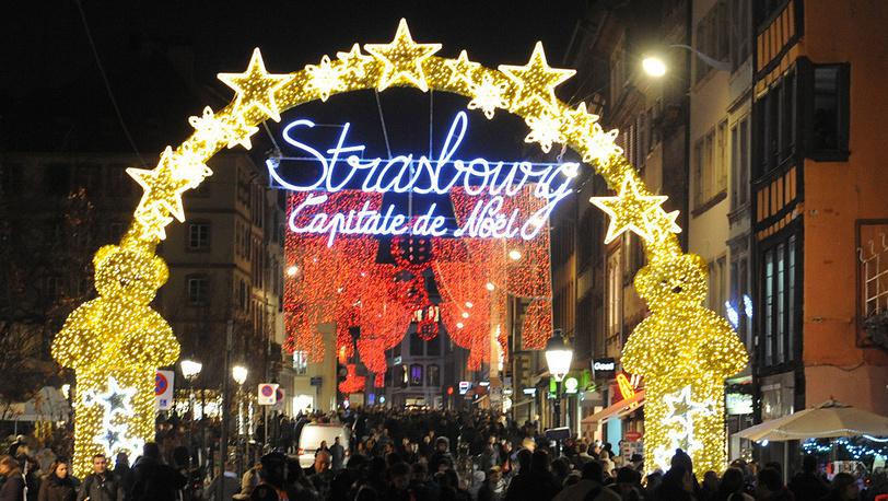 Рождественская ярмарка в Страсбурге проводится с 1570 года