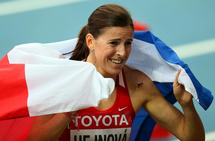 В забеге на 400 м с барьерами победила Зузана Гейнова из Чехии