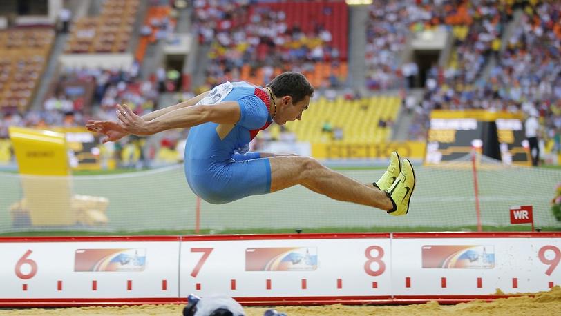 Возможно, победный прыжок Александра Менькова