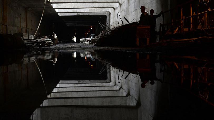 Строительство Алабяно-Балтийского тоннеля. Фото ИТАР-ТАСС/Сергей Карпов