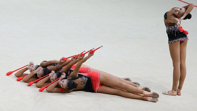 Сборная Китая. Фото ИТАР-ТАСС/Валерий Шарифулин
