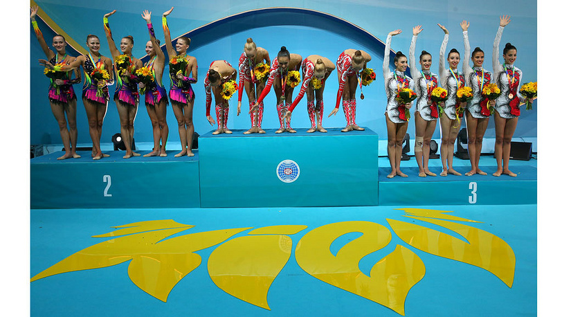 Сборная России - 1-е место. Фото ИТАР-ТАСС/Валерий Шарифулин