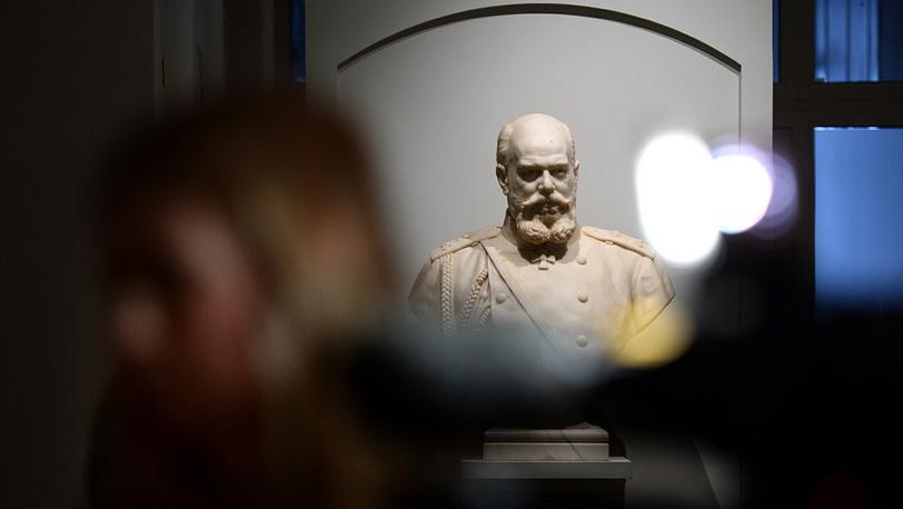 Бюст Александра III работы скульптора Роберта Баха. Фото ИТАР-ТАСС/ Сергей Карпов