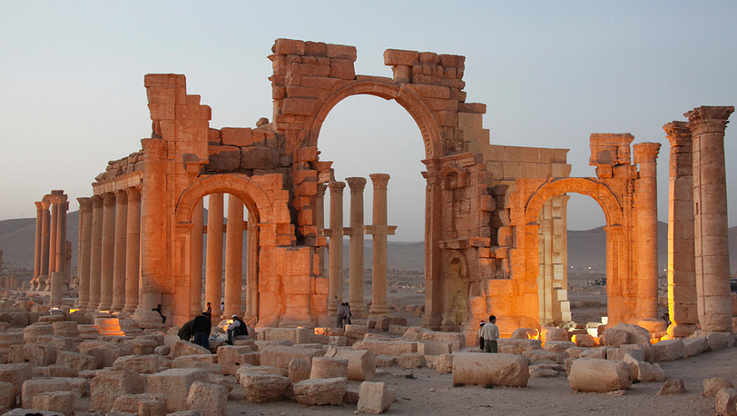 Пальмира. Фото ЕРА/ИТАР-ТАСС